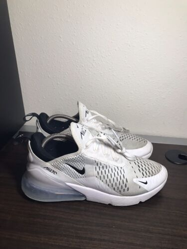 Nike W Air Max 270 Running Shoes AH6789-100 White/Black Women's Size 9