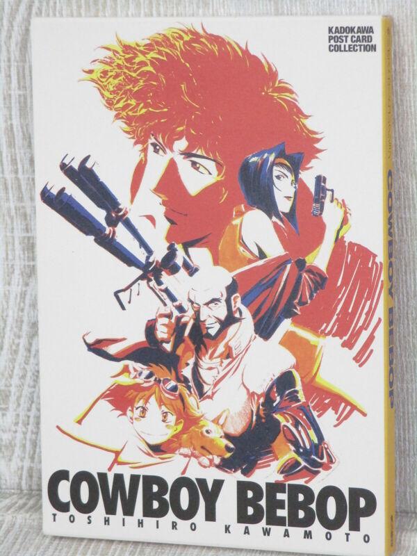 COWBOY BEBOP Postcard Collection TOSHIHIRO KAWAMOTO 2000 Art Illustration Book