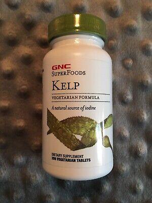 GNC SuperFoods Kelp Dietary Supplement 200 tablets - Best Buy