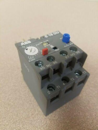 ABB - E16DU-0.32 - Overload Relay