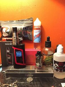 Smoke alien 220 watt plus extras