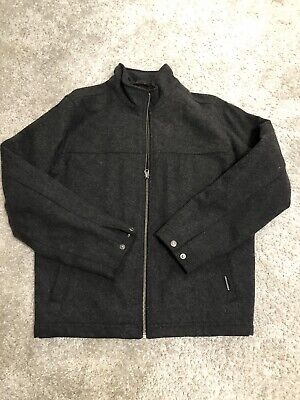 Men's Abercrombie & Fitch EUC Wool Quilted Jacket S $120+