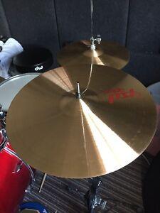 "Paiste PST7 16"" crash cymbal"