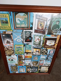 PUB SIGNS FROM IRELAND PICTURE FRAME