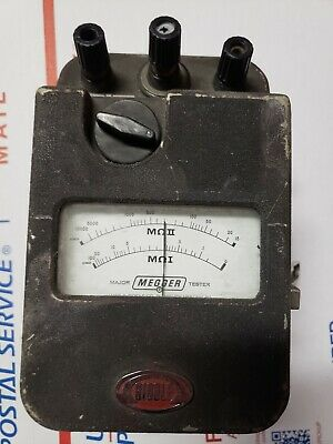 Biddle Megger 21170 Major Megger Tester Untested As-is For Parts Free Shipping