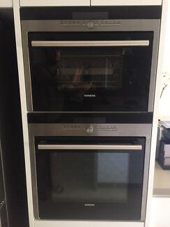 Siemens (Bosch) oven + steam oven set