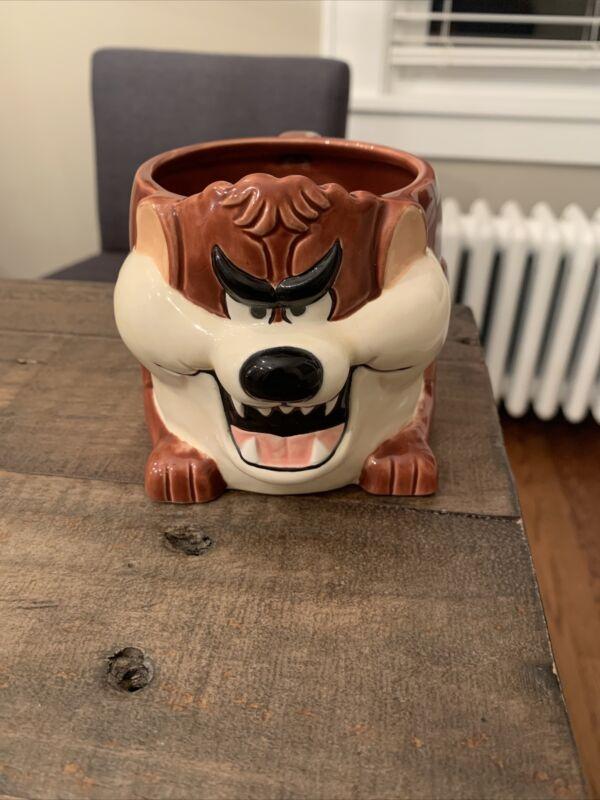 Vintage 3D Tazmanian Devil Griswold Christmas Vacation Taz Mug Rare