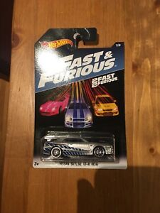 Hot Wheels Fast & Furious Nissan Skyline GT-R R34