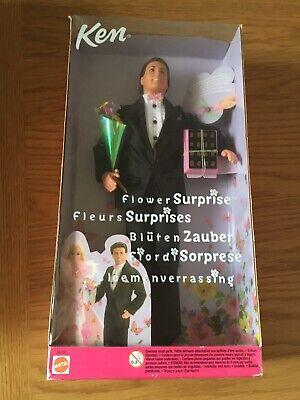 Mattel Flower Surprise Ken Doll Rare Discontinued Barbie Retired BNIB *NEW*