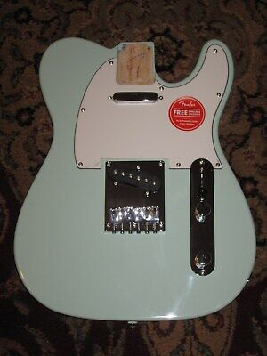 Fender Squier Telecaster Limited Edition NEW BODY Surf Green  See Photos. Mint.