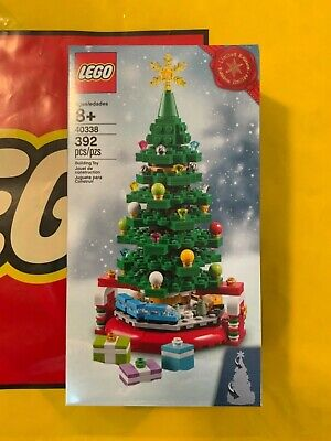LEGO 40338 Limited Edition Christmas Tree Exclusive Holiday Train *Ship Same Day