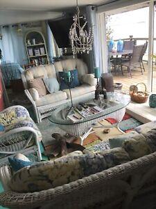 Gorgeous rattan sunroom set