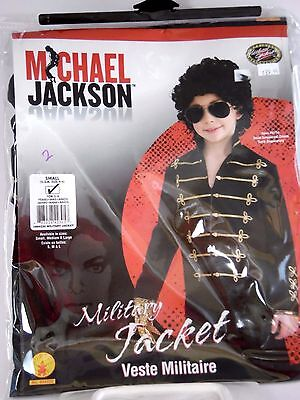 Size S/4-6 Michael Jackson Military Jacket Boys Halloween Costume Trick o Treat