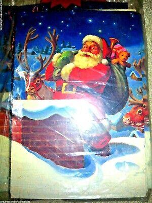 Conjunto De 20 Hallmark Grande Navidad Tarjetas Sobres & Bolsa Regalo Santa...