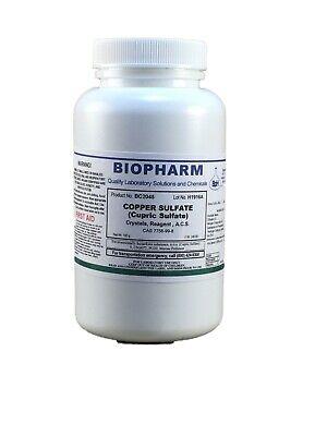 Copper Sulfate Cupric Sulfate Crystals Reagent Acs 100 Grams