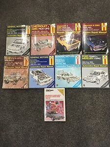 Haynes and Chilton's Service Manuals