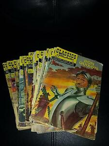 'Classics Illustrated Comics' 1960's era Carindale Brisbane South East Preview