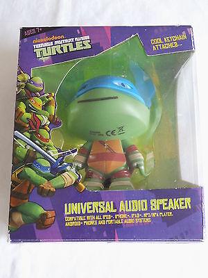 Turtles Figur als Universal Audio Speaker in 3D - Ninja Turtle Farben