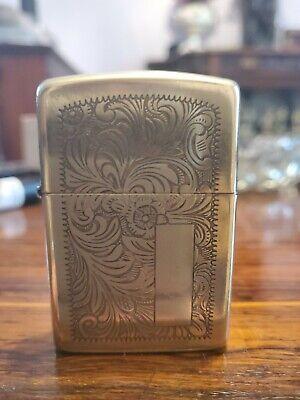 Old Brass Zippo Lighter