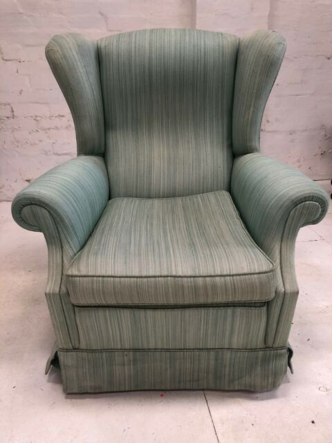 Beautifully comfortable pair of armchairs on castors ...