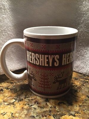 Hershey'st Holiday Coffee Cup - Christmas Sweater Moose Prin ()