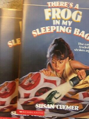Book Bags In Bulk (There's A Frog In My Sleeping Bag by Susan Clymer - Reading Group Lot of)