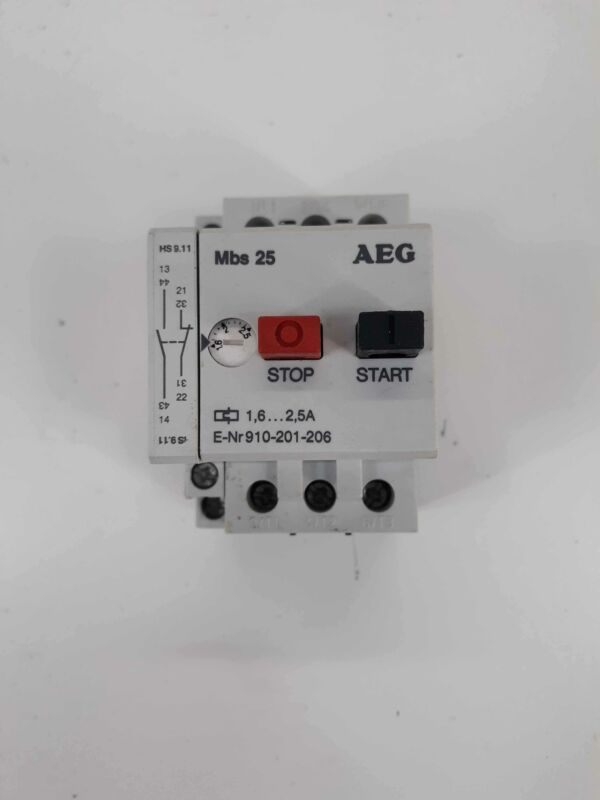 AEG 910-201-206 Manual Motor Starter 1.6-2.5A