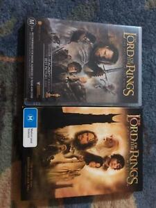 Lord Of The Rings DVDs Forest Glen Maroochydore Area Preview