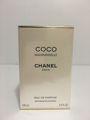 COCO MADEMOISELLE BY CHANEL PERFUME FOR WOMEN 3.4 OZ / 100 ML NEW IN SEALED BOX