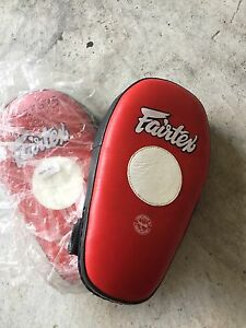 Brand new unused Fairtex Thai focus pads Cammeray North Sydney Area Preview