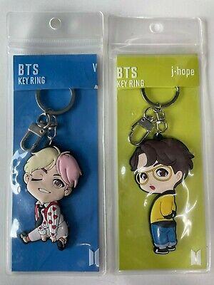 BTS Bangtan Boys Pop Up Store V + J Hope Key Ring Cute Character KPOP