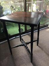 Elegant Ebonised Dainty Vintage Side Occasional Table Wollstonecraft North Sydney Area Preview