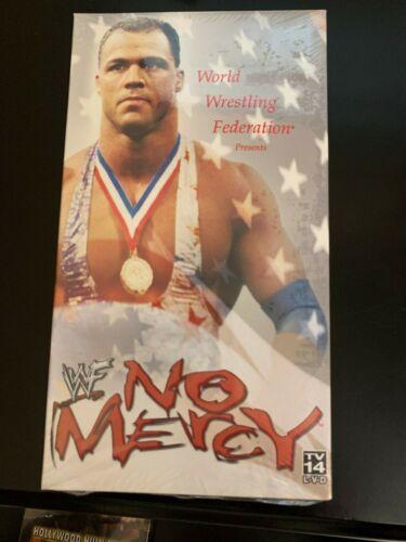 ORIGINAL VINTAGE WWF WWE 2001 NO MERCY PPV BRAND NEW SEALED VHS WRESTLING TAPE