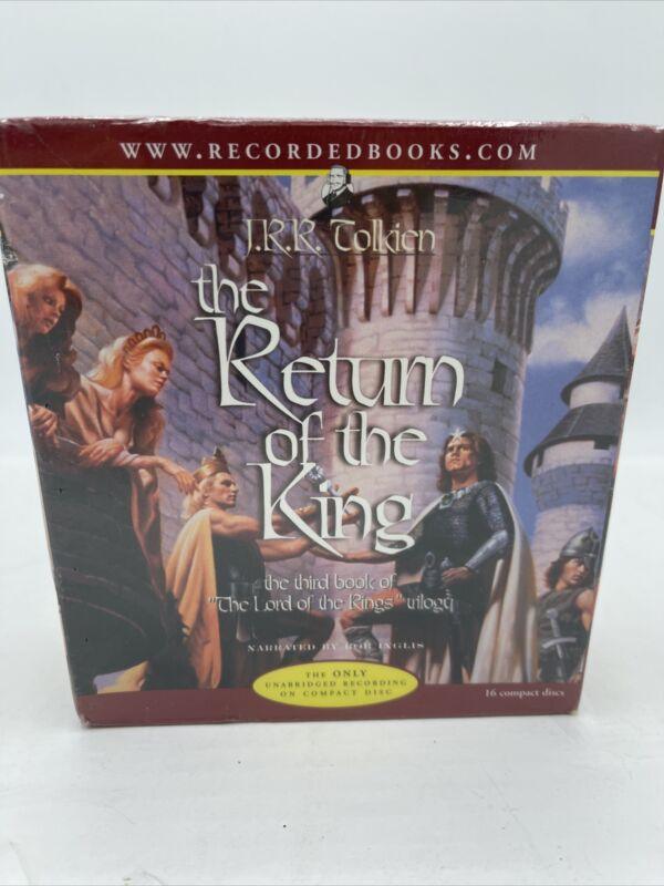 Return Of The King Audio 16 CDs JRR Tolkien Lord of the Rings SEALED