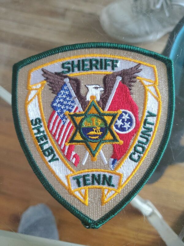 SHELBY COUNTY TENNESSEE TN State Flag SHERIFF POLICE PATCH