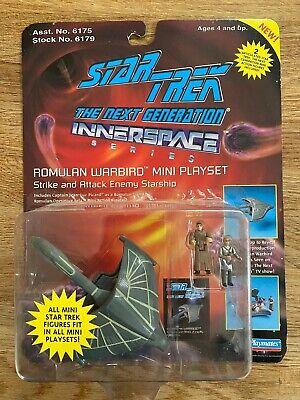 Playmates Star Trek The Next Generation Romulan Warbird MOC Innerspace Series
