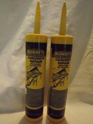 Commercial Grade Quikrete Concrete Repair 10 Oz Qty 2