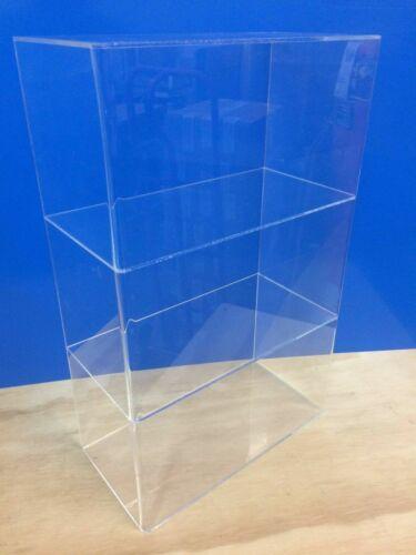 "305Displays 12"" x 6"" x 19""h 2 shelves WITHOUT DOOR Acrylic Countertop Display"