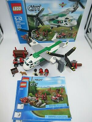 LEGO City 60021 Cargo Heliplane 100% Complete with box retired osprey v22 ospry