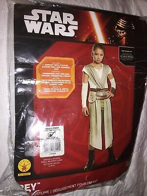 Rubies Star Wars Rey Costume Size 4-6 for 3-4 Year Old - Pre-owned](Costume For 3 Year Old Boy)