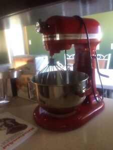 Kitchen aid with attachments