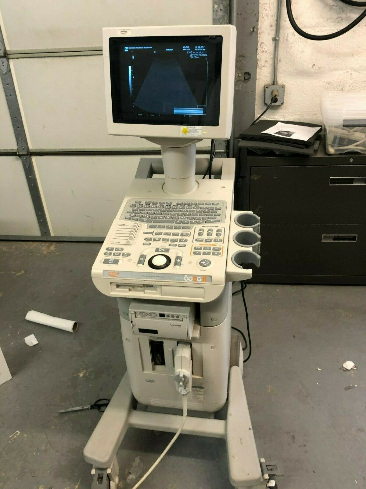 Best USED MEDISON SONOACE SA6000 II ULTRASOUND MACHINE FREE SHIPPING