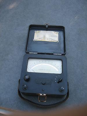 Vintage Weston 622 Acdc Voltmeter