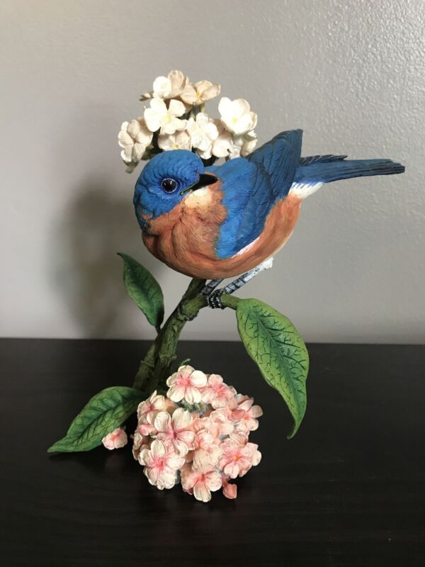 "Danbury Mint ""Summer's Song"" By Bob Guge Bluebird Blue Bird"