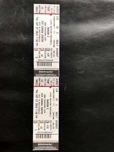 Pair of MAROON 5 Concert tickets $197 each - FACE VALUE