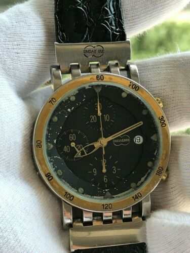 UNOAERRE MEGACHRON CHRONOGRAPH AUTOMATIC ETA 7750 DATE MENS 39mm SWISS MADE