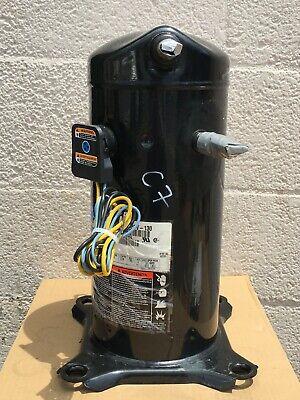 Copeland Scroll Compressor 3 Ton Zr34k3-pfv-130 Refrigerant R-22 Used C7
