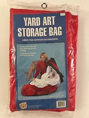 "Yard Art Storage Bag - Christmas/Halloween Yard Art Storage Bag Organize Outdoor Actual Size 15"" X 36"""