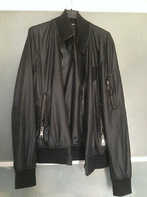 RARE JACKET DOLCE GABBANA WAXED BLACK FROM FASHION SHOW for sale  Shipping to Nigeria
