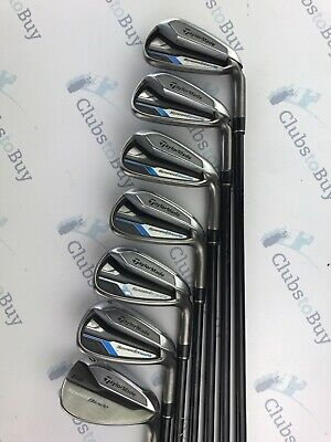 TaylorMade Speedblade Irons Mens - Right Hand Regular Flex Graphite 5 - SW.